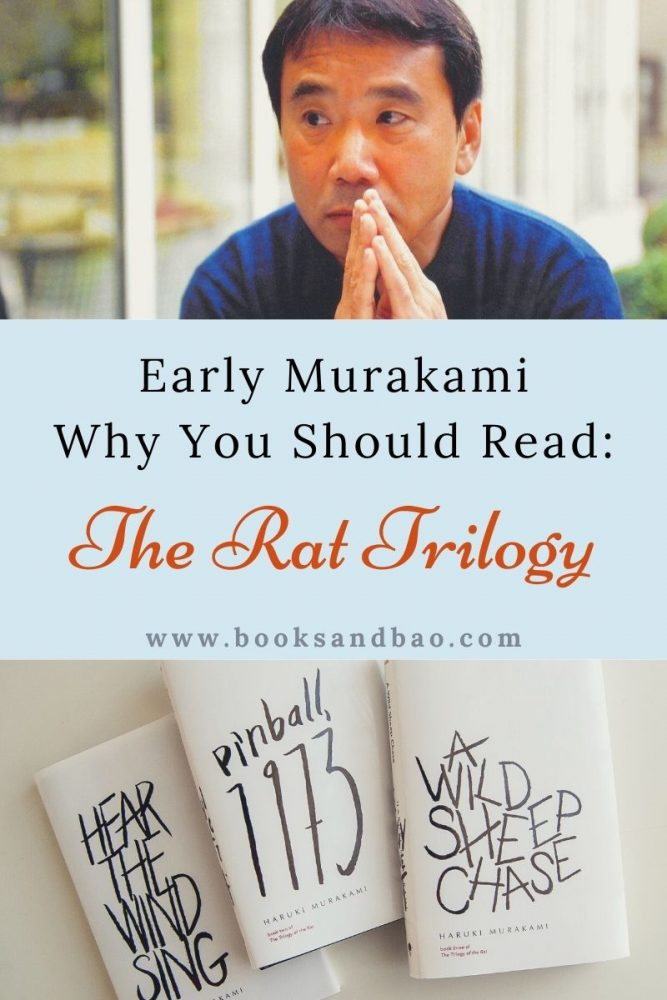 Japan's biggest and most beloved author had some humble and fascinating beginnings. Trace Murakami's footsteps by reading and enjoying The Rat Trilogy. #booklists #japanesebooks #japanese literature