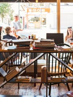 Best bookish cafes london