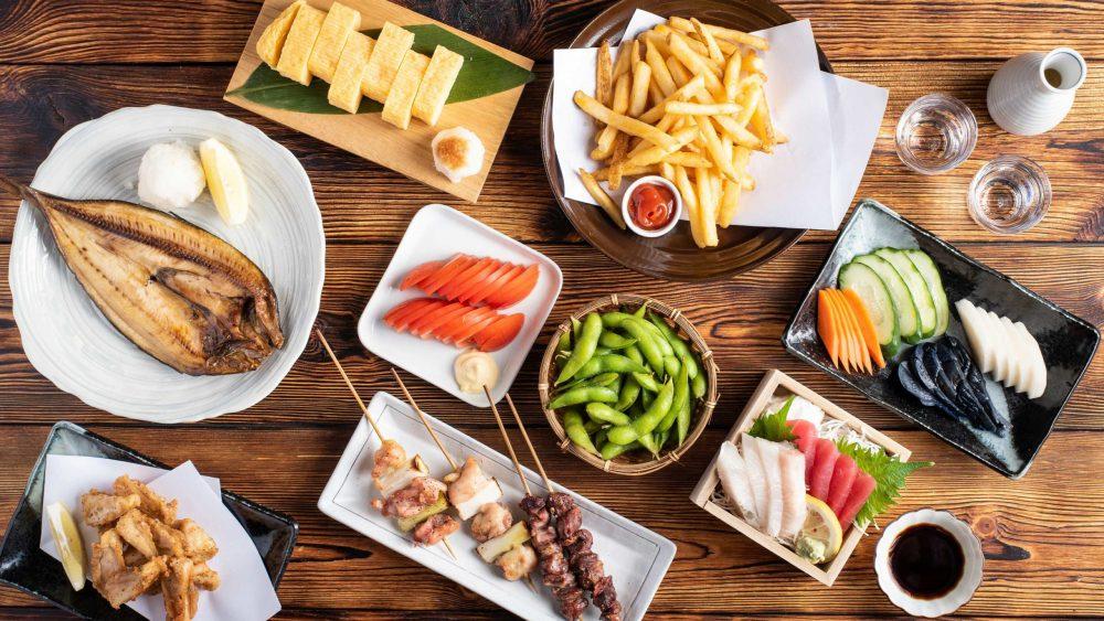 japanese izakaya menu