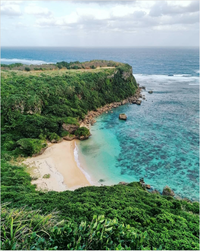coast of okinawa