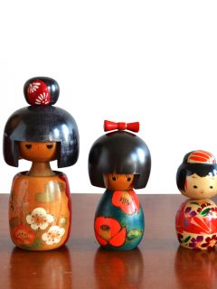 japanese kokeshi dolls japan