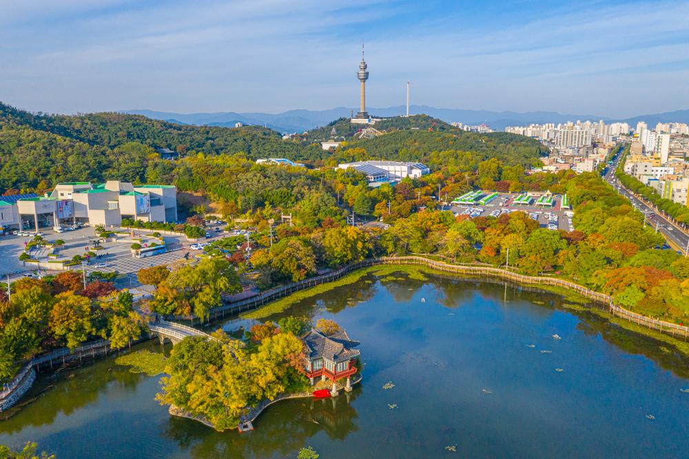 suseong lake daegu