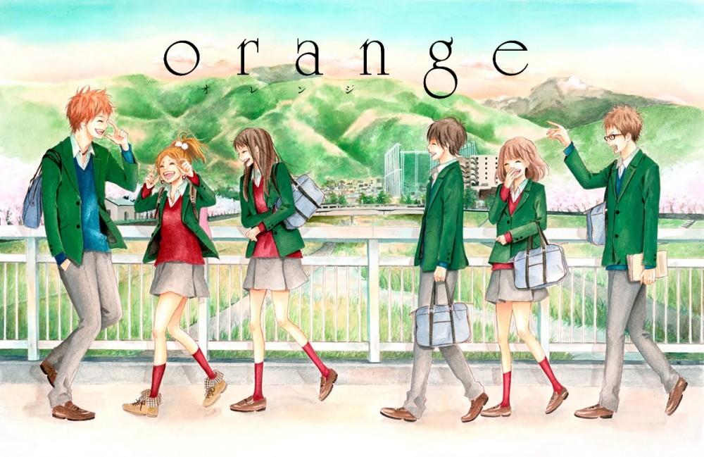 orange manga art