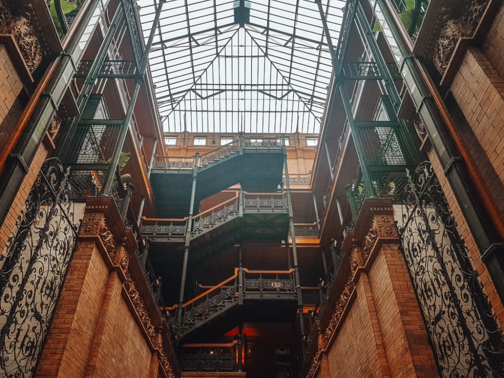 bradbury building la 5 day itinerary