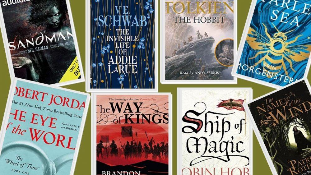 best fantasy audiobooks on audible