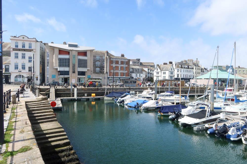 Plymouth Barbican Boats