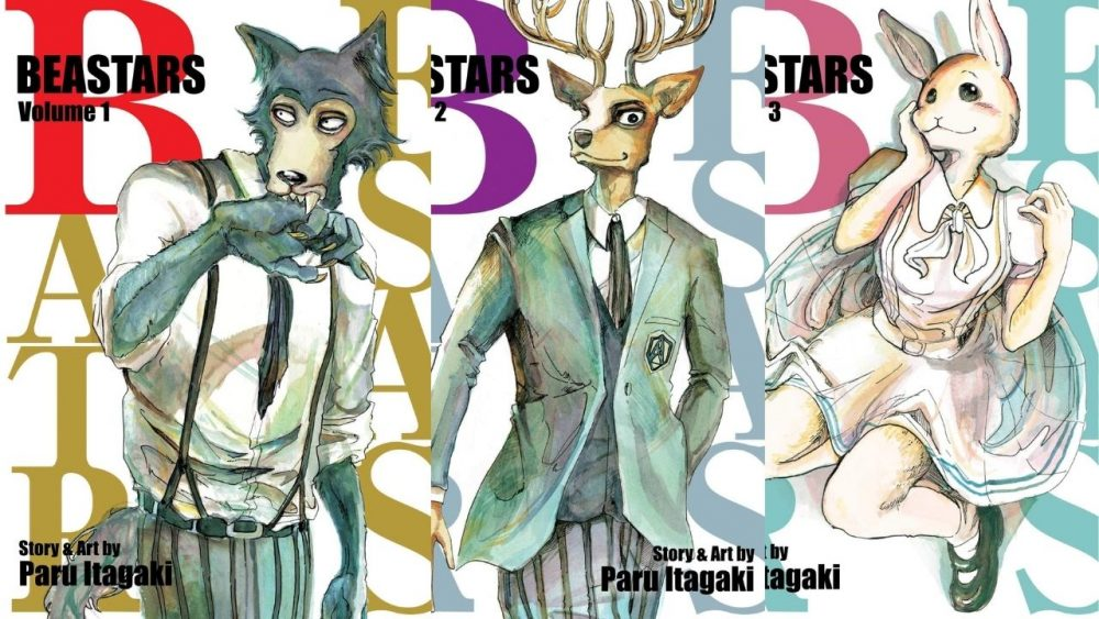 beastars manga cover