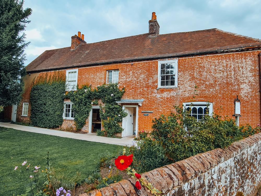jane austen's house chawton