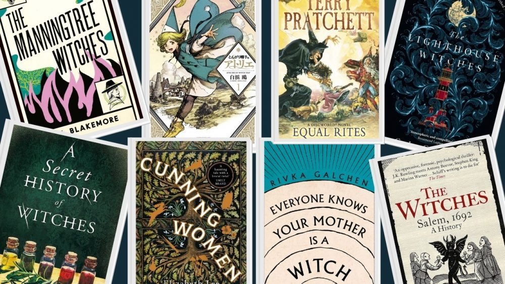 books about witches and witchcraft