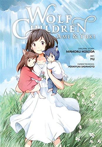 wolf children manga